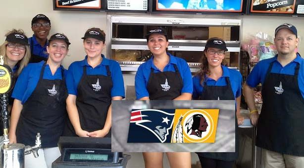 Patriots vs Redskins – Pre Season Game Volunteer